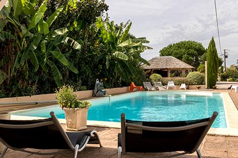 Gite avec piscine lherm for Piscine muret horaires